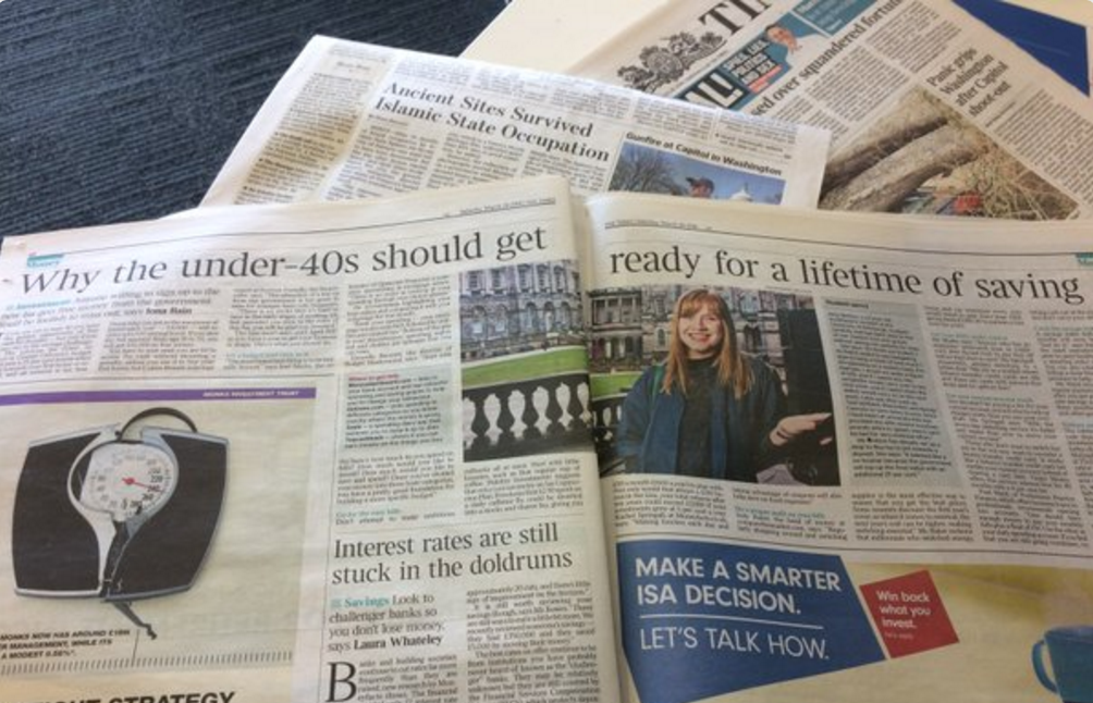 Budget Mastermind Talks Lifetime ISAs in The Times